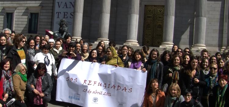 Resolución  Jornada sobre Mujeres Refugiadas de la Plataforma CEDAW Sombra