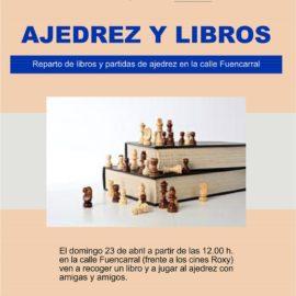 Ajedrez y libros en Fuencarral