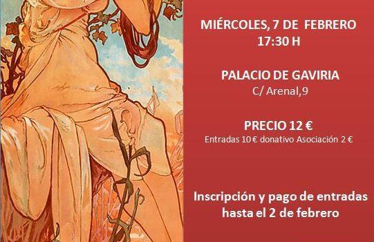 Visita a la exposición Alphonse Mucha
