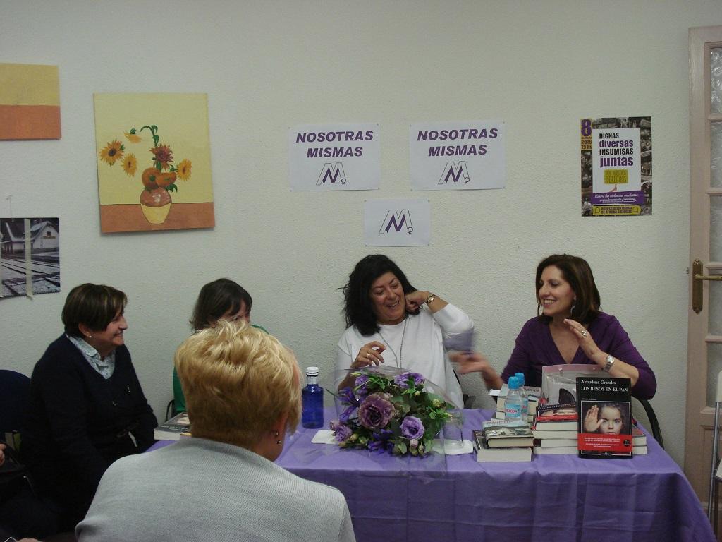 Presentación del libro de Almudena Grandes