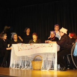 Representación del taller de teatro de Nosotras Mismas