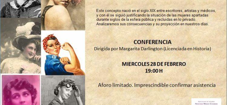 """Conferencia """"El eterno Femenino"""""""