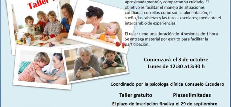 Taller «Aprendiendo a manejar los conflictos con los niños y niñas»