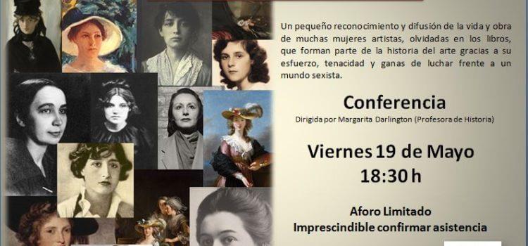 Conferencia Mujeres Artistas
