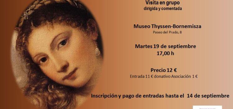 """Visita exposición """"El Renacimiento  en Venecia"""""""