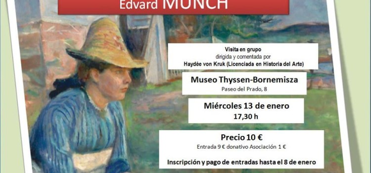 Visita a la exposición de Edvard Munch en el Museo Thissen-Bornemisza