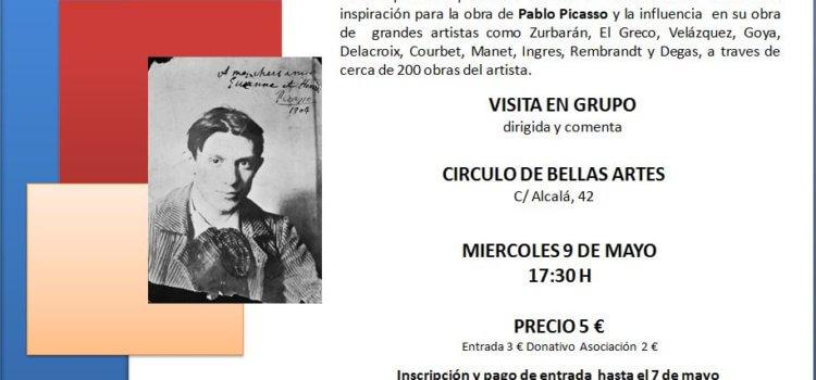 Visita a la exposición Picasso y el museo