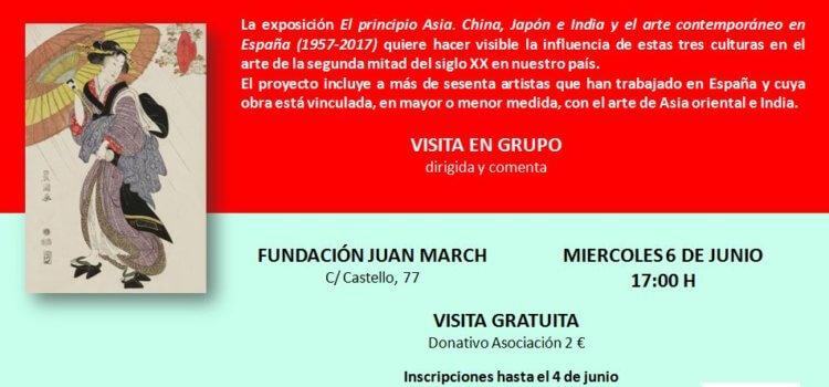 """Visita exposición """"El principio Asia"""""""