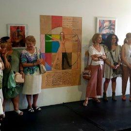 Inauguración de la exposición de pintura