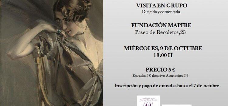 Exposición de Boldini y la pintura española a finales del XIX