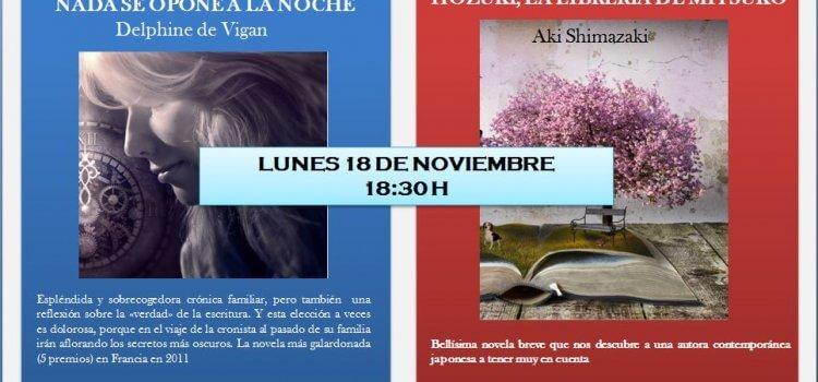 Seminario de Literatura de noviembre