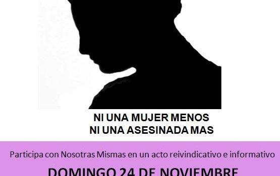 24N: Ni una mujer menos, ni una asesinada más