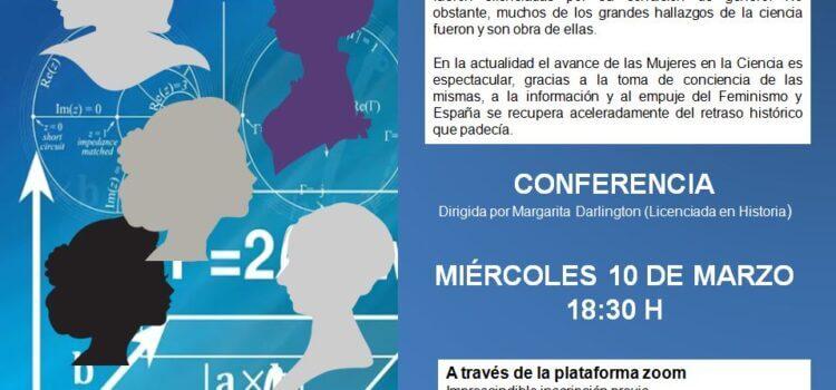 Conferencia Mujeres científicas