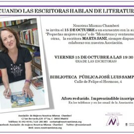 CUANDO LAS ESCRITORAS HABLAN DE LITERATURA